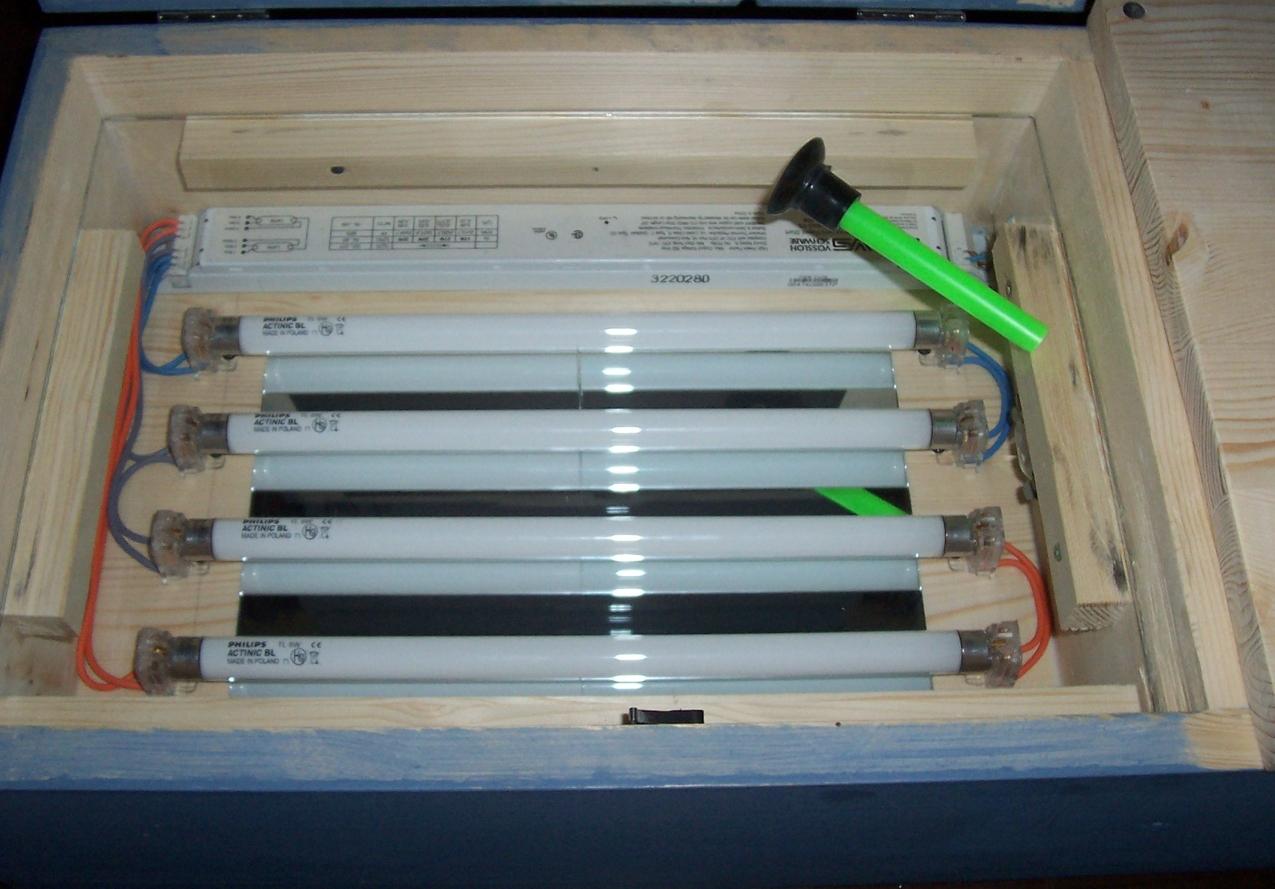 Schema Elettrico Timer Per Bromografo : Uv exposure box with digital timer bromografo con