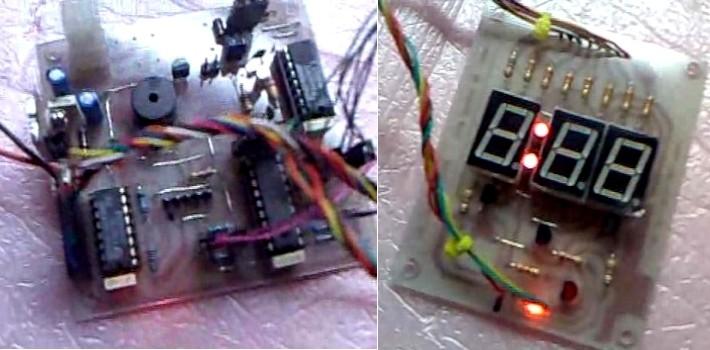 Schema Elettrico Timer Per Bromografo : Pic digital timer for uv exposure box bromografo con