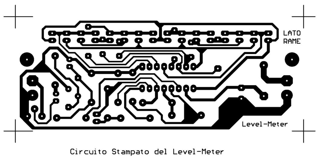 16 led level-meter