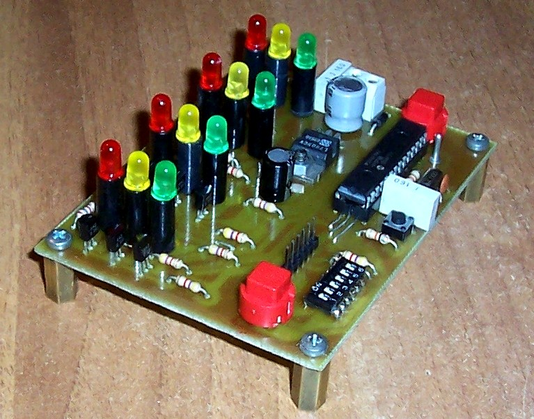 Traffic Light Controller Circuit