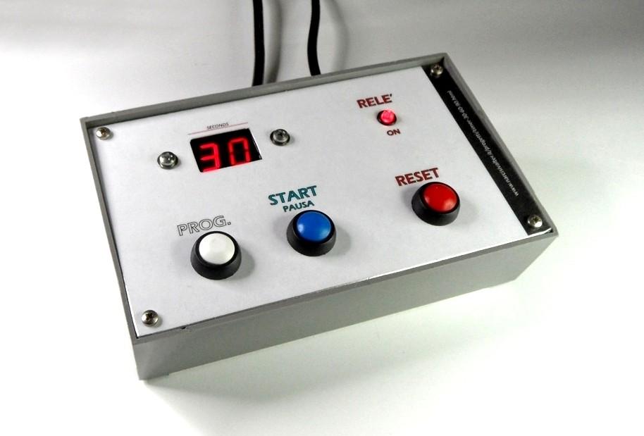 Schema Elettrico Timer Per Bromografo : Seconds digital timer tempoizzatore per tempi corti
