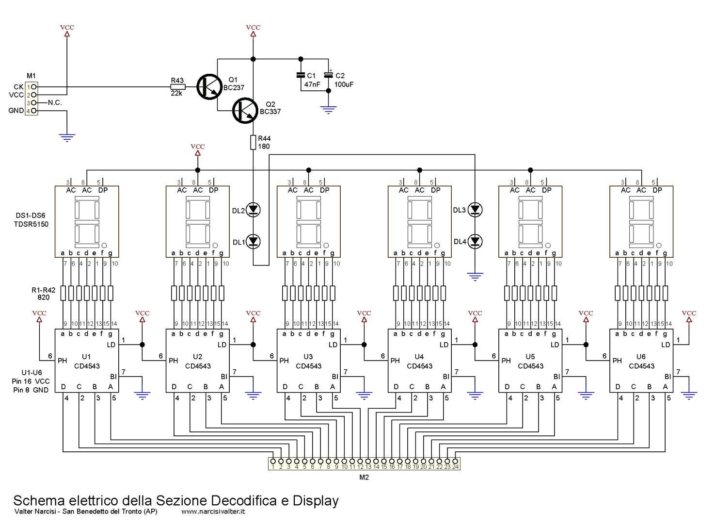 Schema Collegamento Orologio Finder : Schema collegamento orologio digitale fare di una mosca
