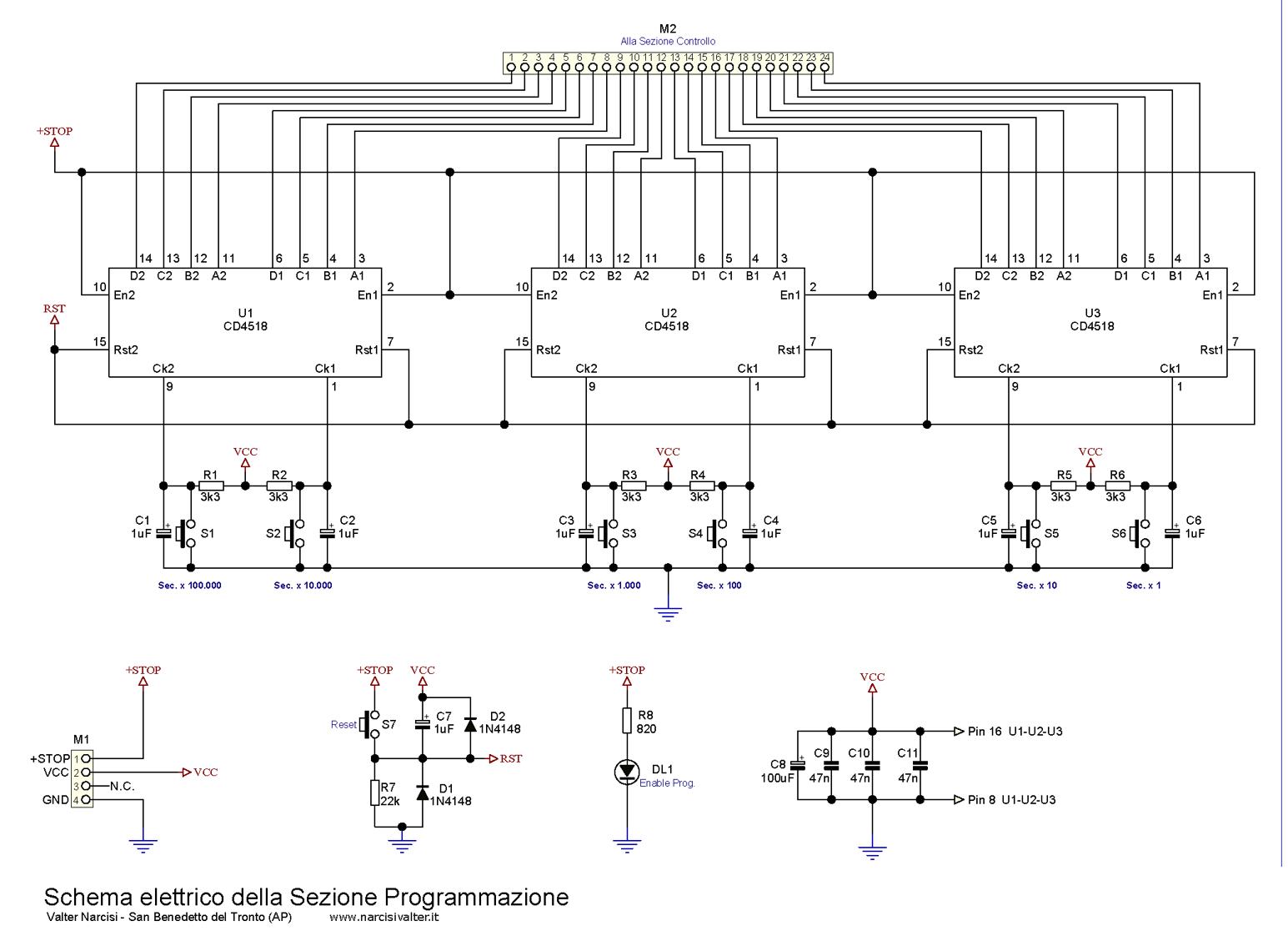 Schema Elettrico Timer Per Bromografo : Schema elettrico timer programmabile fare di una mosca